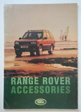 RANGE ROVER P38 orig 1995 UK Mkt Accessories Brochure
