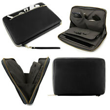 """Tablet Leather Carry Sleeve Case Pouch for iPad Mini 4/8"""" Samsung Galaxy Tab A E"""