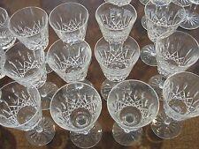 "WATERFORD LISMORE 12 WINE GLASSES 5 7/8"""
