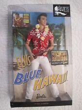 Mattel Barbie Elvis Presley Collection Classic Edition Elvis In Blue Hawaii.New!