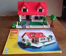 LEGO Designer Wohnhaus 4886 komplett mit Bauanleitung für 3 Modelle + Bäume