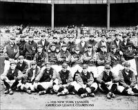 1926 New York Yankees Photo 8X10  Gehrig Ruth Hoyt Lazzeri  Buy Any 2 Get 1 FREE