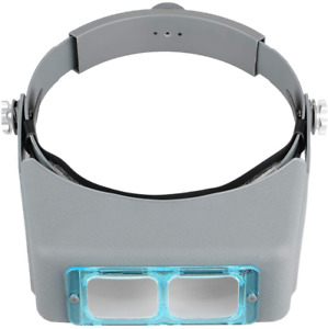 Mount Professional Jeweler Loupe Headband Magnifying Glasses Magnify Goggles New