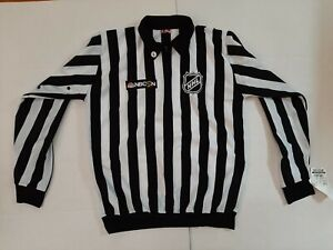 BRAND NEW w/ Tags Official NHL Referee CCM Jersey - NBCSN Patch - Size L Sewn