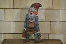 Gnome Doorstop Cast Iron Hubley