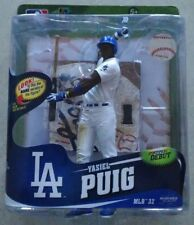 2014 YASIEL PUIG MLB MCFARLANE SPORTPICKS DEBUT SERIES 32 LOS ANGELES DODGERS