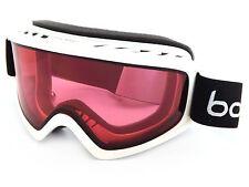 Bolle Freeze Ski Snowboarding Goggles Shiny White / Vermillion CAT.2  21489