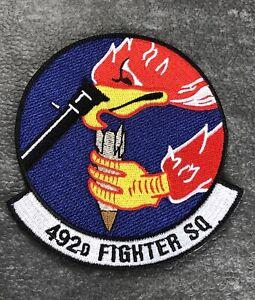 RAF Lakenheath USAF F15 492nd Fighter Squadron Patch