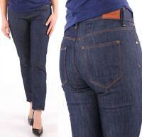 Wrangler Damen Jeans Hose Bespoke Slim Retro Dry Denim marineblau W26 - W34