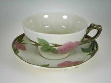 Franciscan Desert Rose Cups & Saucers Set of 4 Production