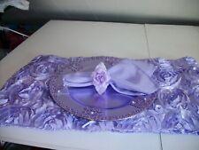19Pc Allover Lavender Table Accessories