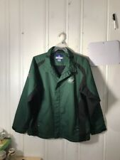 NEW YORK JETS MENS LIGHT JACKET GREEN LARGE LONG SLEEVE NFL ON FIELD TEAM APPARE