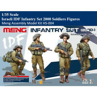 Meng HS-004 1/35 Israeli IDF Infantry Set Military Soldier Figure Assembly Model