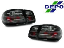 DEPO 96-02 Mercedes Benz W210 E Class 4D Sedan Euro All Smoked Rear Tail Lights
