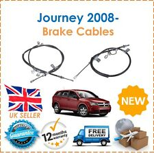 For Dodge Journey 2.0DT 2.4 2008- Rear Right & Left  Hand Brake Cables New