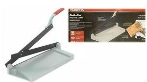 Roberts #30002 Quick Cut Vinyl Tile Cutter - BRAND NEW (Open Box)