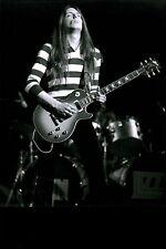 Thin Lizzie Scott Gorham signed autograph UACC AFTAL