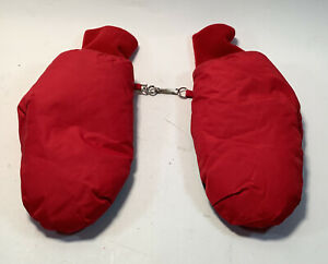 Boys Red Mittens Size Small