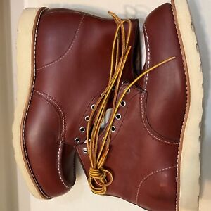 Red wing 9106 Copper worksmith moc toe boots size 11.5