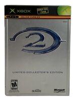 Halo 2 Limited Collector's Edition Microsoft Xbox 2004 Complete CIB Manual