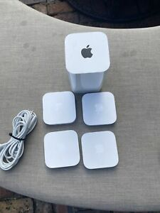 Apple A1521 AirPort Extreme Base With 4 Airport Express A1392
