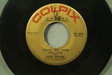 45 record Nina Simone Come on Back Jack jazz R&B soul Colpix