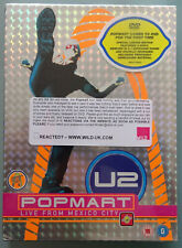 U2 - Popmart Live From Mexico City DVD 2-Disc Set - Limited Edition