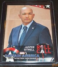 Captain America Winter Soldier Character Card Maximiliano Hernández as Sitwell
