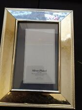 """PhilipWhitneyLtd Picture Frame Silver-Plated. 4"""" x 6"""""""