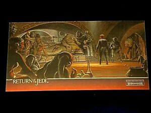 Topps Finest Widevision Star Wars Return of the Jedi Chrome Chase Card C3