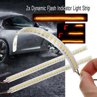 18cm Dynamic Streamer Brake Turn Signal Light Flow Led Car Rear Trunk Strip