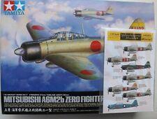 1/32 Tamiya Mitsubishi A6m2b Model 21 Zero Fighter #60317 & Yellowhammer decals