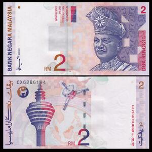 Malaysia 2 Ringgit, ND(1996-1998), P-40, UNC