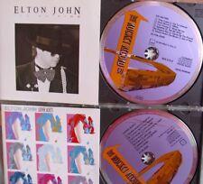 Elton John- Leather Jacket/ Ice on Fire- ROCKET lila- West Germany