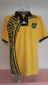 Jamaica Jamaican football shirt size xl yellow