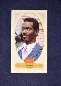 2012 Panini Golden Age Mini Broadleaf Brown Ink #74 Bob Beamon - NM-MT