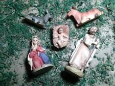 nativita 5 pz pastori 10 cm resina artigianali presepe crib shepherd gia art 38