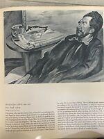 "The Tate Gallery, Wyndham Lewis, Ezra Pound Print, 11"" x 13"" (Paper)"