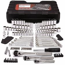 Craftsman 165 piece pc Mechanics Tool Set Standard Metric Socket Ratchet Wrench