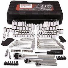 Craftsman 165 pc. Mechanics Tool Set Standard Metric Socket Ratchet Case Wrench