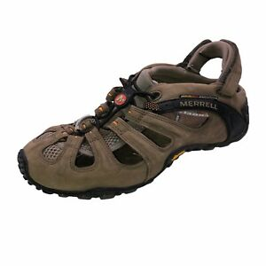 Merrell  Continuum Mens 9 Sandals Removable Ankle Strap Shoes Outdoor Hiking