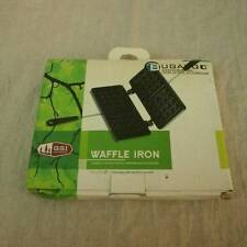 GSI Bugaboo Outdoors Waffle Iron Even Heat Non Stick Aluminum Two Square NIB