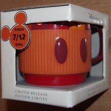 Disney Store Mickey Mouse Memories Stackable Mug July Limited Release 7/12
