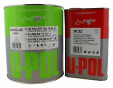 U-POL 2253/2323 HS High Build 2K Urethane Primer Gallon Kit w/ Hardener