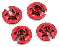 New STRC Traxxas 4Tec 2.0 Red Aluminum Lower Shock Retainers (4) ST3768R
