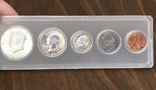 1964 U.S. Mint Proof Set - Five Coins in Holder - Beautiful Kennedy Half