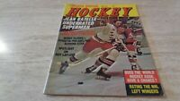 April, 1972 Sports Special Hockey Magazine - Jean Ratelle Cover - NY Rangers  VG