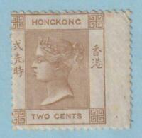 HONG KONG 8  MINT HINGE REMNANT OG * NO FAULTS VERY FINE !