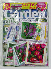 GARDEN ANSWERS MAGAZINE JULY 2020 WITH 8 PACKS OF SEEDS ~ NEW ~