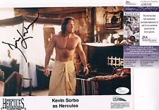 Kevin Sorbo Hercules Signed 8x10 Photo JSA Certified